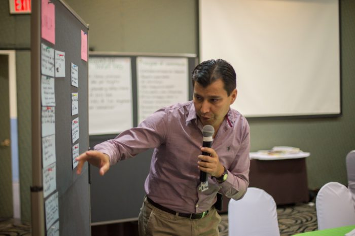 Participant from Sinaloa during the workshop